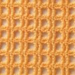 Mesh Squares Crochet Stitch