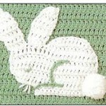 Free Crochet Rabbit Motif