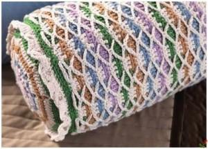 crochet round pillow roll