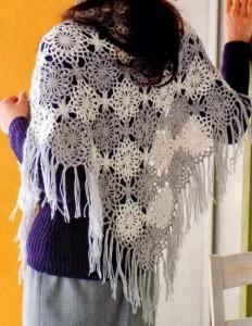 crochet-shawl-pattern-two colors