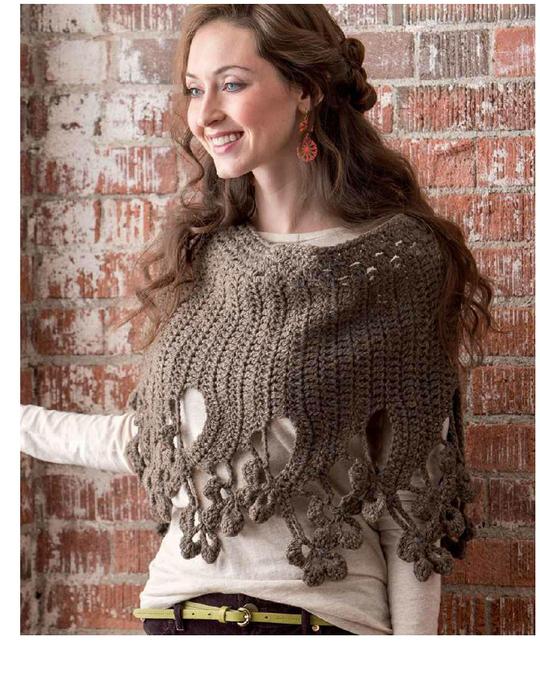 Pretty Crochet Shawl Pattern ? Crochet Kingdom