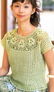 crochet short slevve