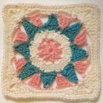 Flower/Sun Square Pattern