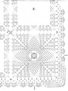 crochet tablecloth 1