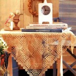 Lace Crochet Tablecloth Pattern