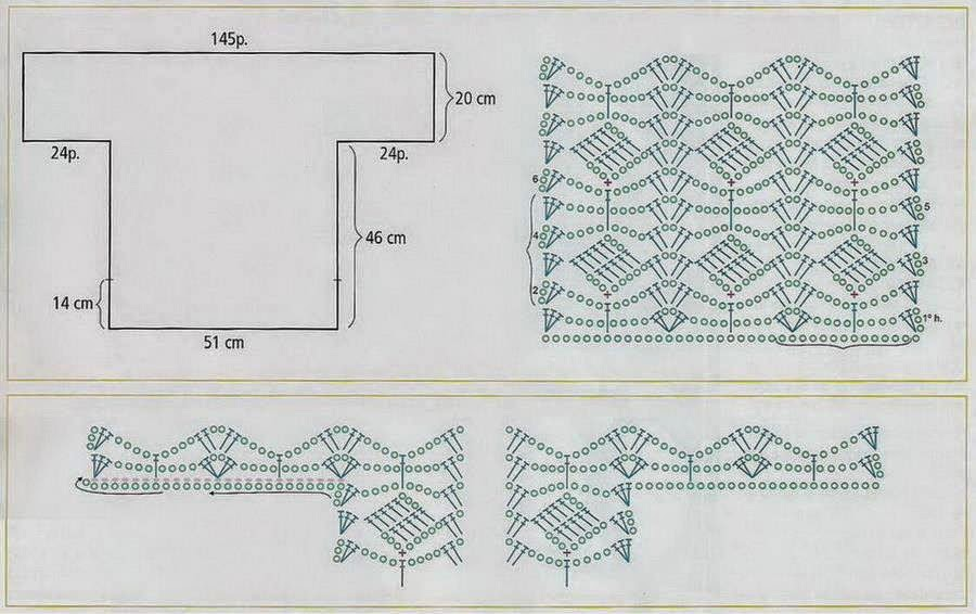 Yellow Crochet Tunic Crochet Kingdom