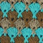 Fan X Stitch Crochet