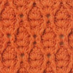 Crochet Diamond Waves Stitch Free