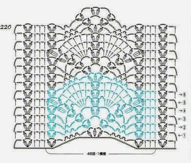 Fan Lace Panel Crochet Stitch Crochet Kingdom