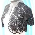 Fan Bolero Crochet Pattern
