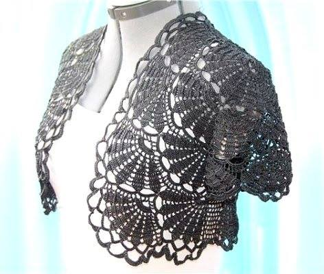 Fan Bolero Crochet Pattern Crochet Kingdom