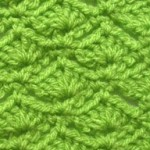 Fan Waves Crochet Stitch