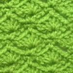 Fan Waves Crochet Stitch