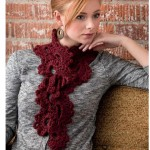 Big Fans Crochet Scarf Pattern