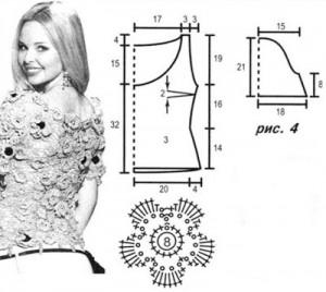 flower crochet top 1