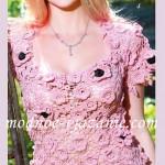 Crochet Flower Top Free Pattern