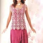 Flower Lace Summer Crochet Top