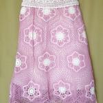 Flower Mesh Skirt Pattern Crochet