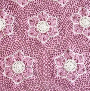 flower mesh skirt crochet pattern 2