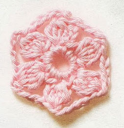 hexagonal-flower