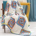 Trippy Hippy Crochet Afghan Pattern