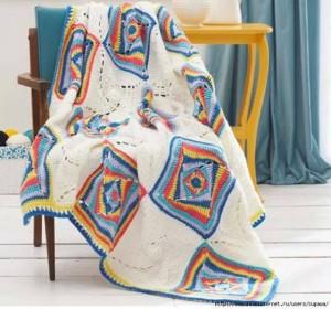 hippy crochet blanket pattern