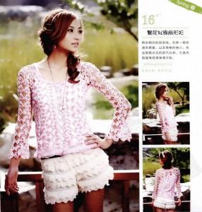 irish lace blouse crchet pattern