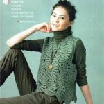 Irish Lace Crochet Vest