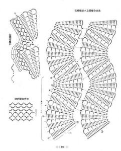 irish lace crochet vest 2