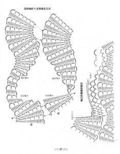 irish lace crochet vest 3