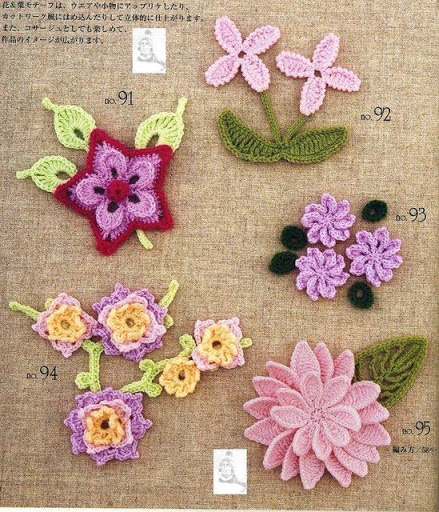 Japanese Crochet Flowers ⋆ Crochet Kingdom