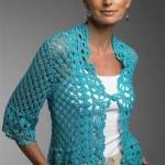Lacy Cardigan Crochet