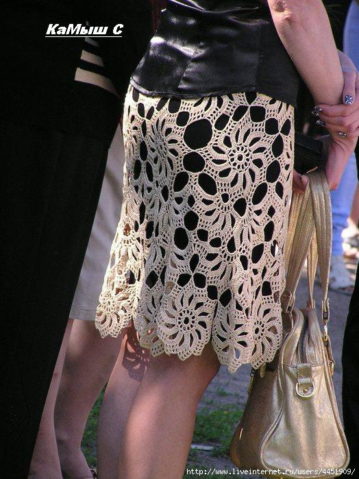 Lace Crochet Skirt Pattern ⋆ Crochet Kingdom