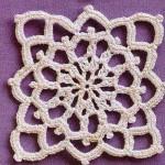 Crochet Square Delicate Lace