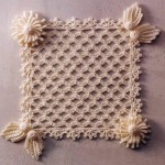 Lace Square with Embellishments