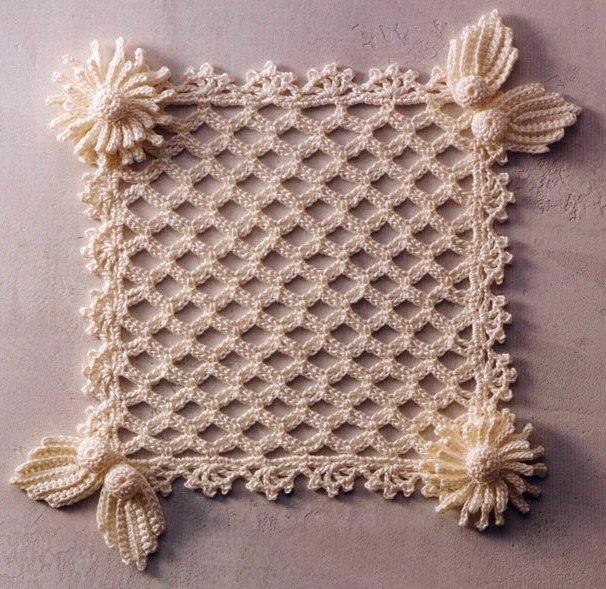 Crochet Squares : Flower Square Blanket Crochet Pattern ? Crochet Kingdom