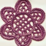 Lace Crochet Flower