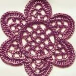 Lace Crochet Flower