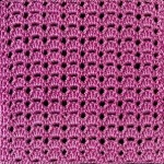 Little Fans Crochet Stitch