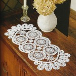 Long Circle Doily Crochet Pattern