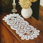 Long Circle Doily Crochet Pattern