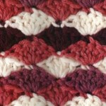 Multi-Colored Fans Stitch Crochet
