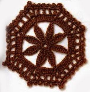 octagon-crochet-cirlce-flower