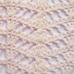Openwork Ripple Crochet Stitch