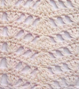 Openwork Ripple Crochet Stitch ? Crochet Kingdom
