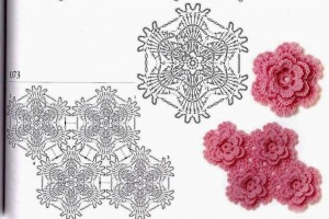 pink-layered-crochet-flower-1