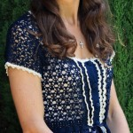 Crochet Kate Middleton Blouse Pattern