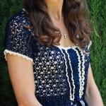 Crochet Kate Middleton Blouse Pattern