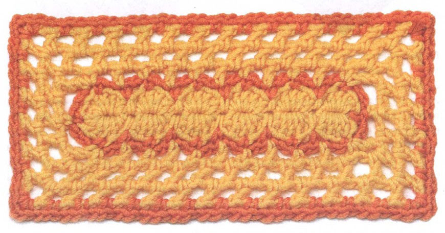 Crochet Patterns Rectangle : Crochet Rectangle Motif ? Crochet Kingdom