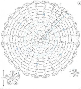 rounde lace doily 1